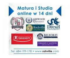 Szkoła Średnia i Studia w 14 dni
