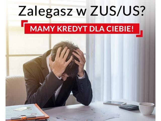 Kredyt dla firm do 600.000 złotych z zaległościami w ZUS/US